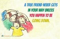 A True Friend Never