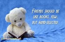 Friends Should Be Like Books