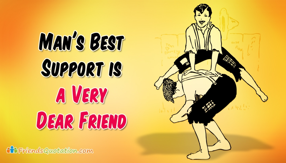 Friends Quotation by True Friends