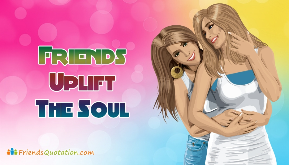 Friends Quotation by Girls