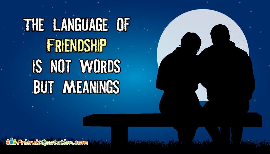 Friends Quotation by Close Friends