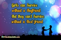 Girls Can Survive Without A Boyfriend,