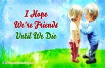 I Hope We