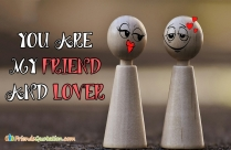 You Are My Friend And Lover