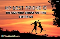 My Best Friend Is The One